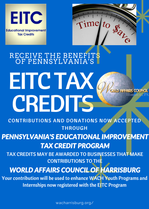 HELP OUR YOUTH BECOME GLOBALLY COMPETENT! DONATE THROUGH EITC!