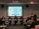 Opening Panel of Peace Symposium at Temple University Harrisburg - Frank Swit, Rev. Sandra Mackie, Ryan Keith, Jon Rudy, Joyce Davis and Dr. Mehdi Noorbaksh.