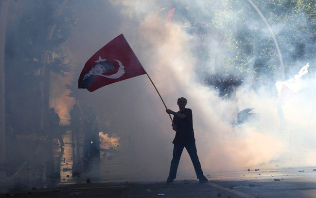 CRISIS IN TURKEY: TURMOIL FROM WITHOUT AND WITHIN