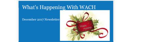 WACH's December Newsletter