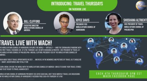 """See Our First """"Travel Thursdays"""" on Facebook Live!"""