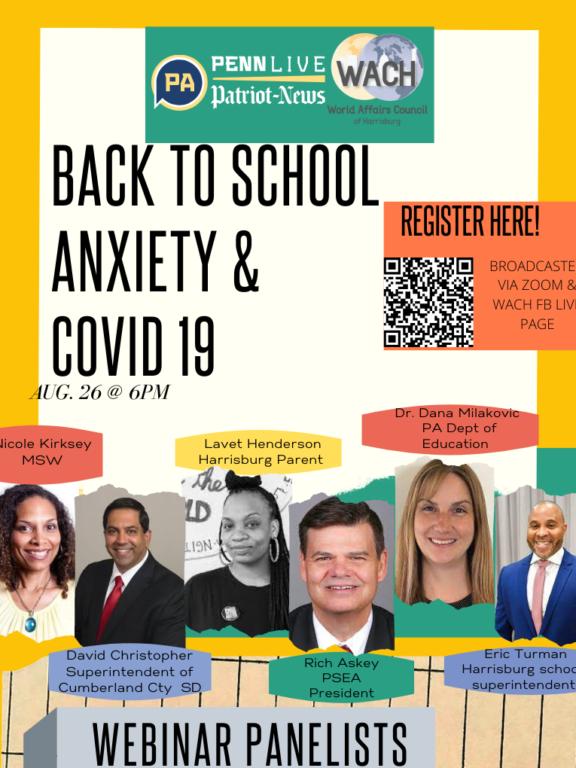 Back-to-School Anxiety &COVID-19 Webinar