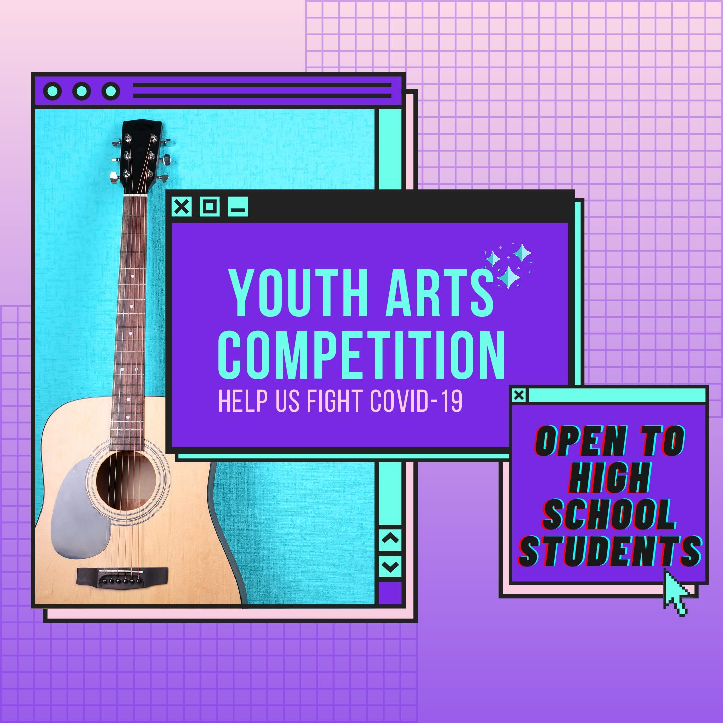 Youth Arts Competition — All Genres and Geniuses Welcome!